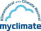 myclimate Klimaneutral+++ClimateNeutral(マイクライメイト クライメイトニュートラル)