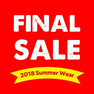 2018 夏物ウェアファイナルセール