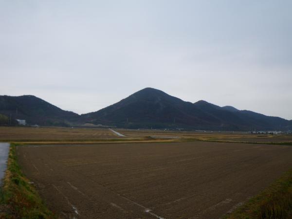 馬場集落からX山・Y山・Z山