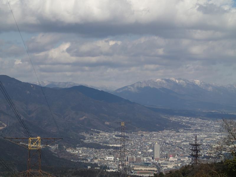 音羽山。(滋賀・京都) 駅から...