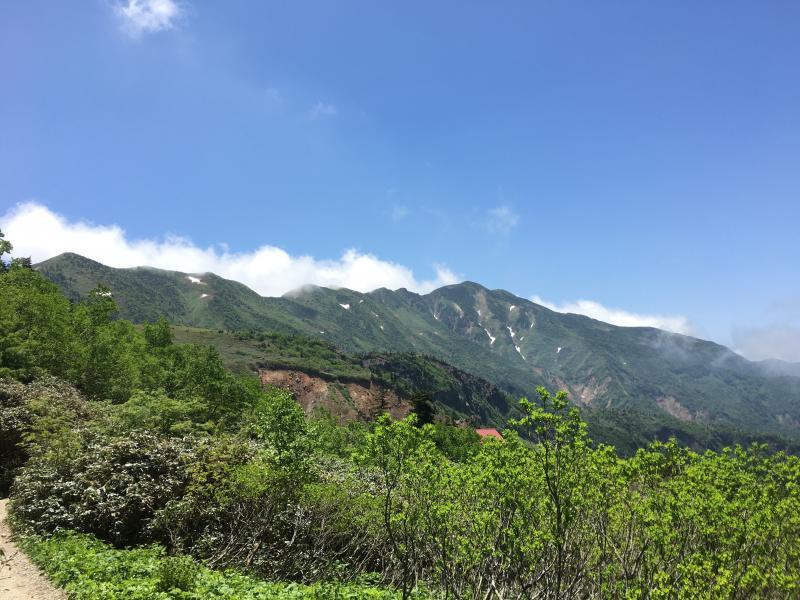 登山 天気 白山