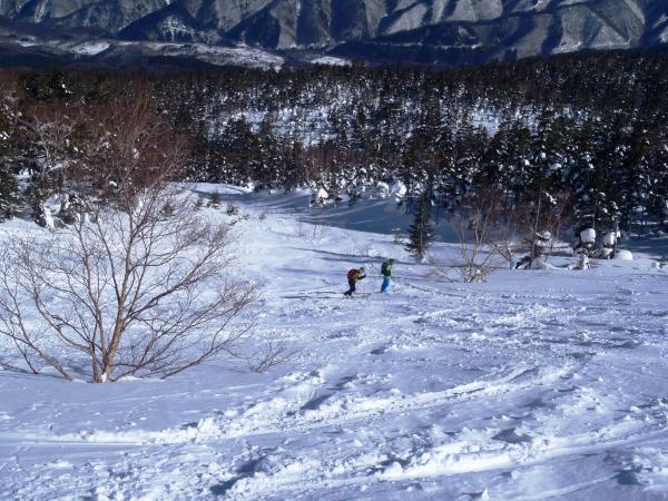 Mt.乗鞍岳 バックカントリー(telemark)スキー | 登山レポート ...
