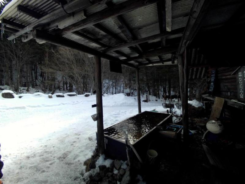 八ヶ岳 南沢小滝アイスクライミング
